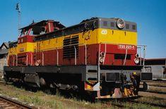 čerstvě opravená 227 8.1998 v Bakově nad Jizerou při objíždění Os.soupravy Train, Strollers