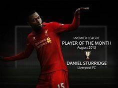 ☼ Congratulations Daniel Sturridge, fully deserved! #EPL #LFC