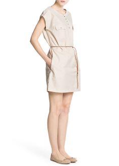 Shirt cotton dress