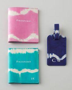 Graphic Image Tie-Dye Travel Accessories - Neiman Marcus