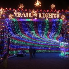 Zilker Park- Trail of Lights - Austin, TX #Yuggler #KidsActivities #Holiday