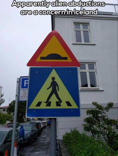 Iceland signs ~ alien abduction