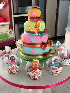 Mariposas....cumpleaños con mucho color!!