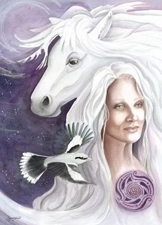 The Feast of Rhiannon on March 4th honors the sacred Welsh horse, the Moon, and the Goddess Rhiannon .The horse symbolizes the ability to journey between ...