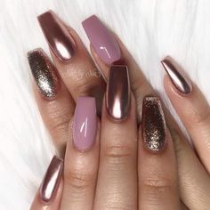 There are most popular designs for coffin nails in our gallery. Find out which… - coffin #nails #nailscoffin #coffinnails