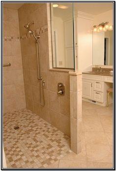 Shower Without Door i like the window and walk in shower with no door   bathroom