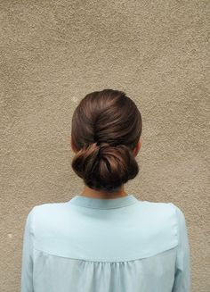 I'd rather hair you now - Blogi | Lily.fi. The perfect, sophisticated bun!