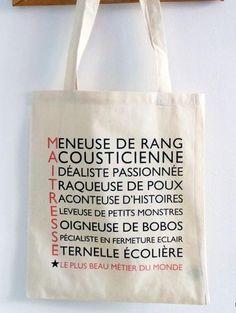 Un tote bag pour ma maîtresse.