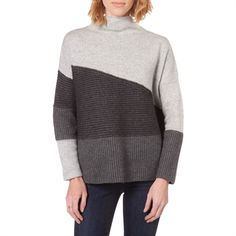 French Connection Women's Contemporary Texture Block Sweater