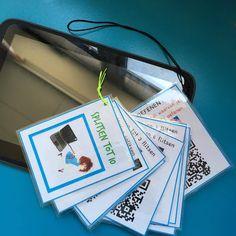 ©Lise: Splitsen oefenen met QR codes 21st Century Skills, Future Jobs, Grade 1, Ipad Tablet, Meet, Teaching, School, Apps, Qr Codes