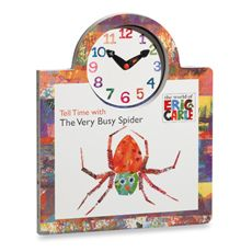 Eric Carle''s Tell Time with the Very Busy Spider Board Book - Bed Bath & Beyond