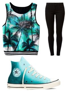 """""""Untitled #184"""" by journeycarothers on Polyvore featuring Dorothy Perkins and Converse"""
