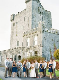 Venue: Knappogue Castle in County Kerry, Ireland. Photography by lisaodwyerweddings.com Event Planning by aislinnevents.com/  Read more - http://www.stylemepretty.com/2013/06/28/ireland-wedding-from-lisa-odwyer-photography/