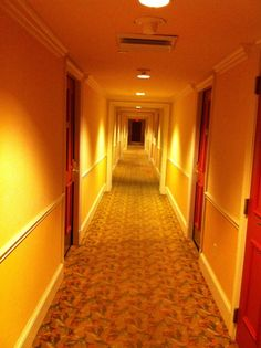 The hallway of the St. James Hotel in New Orleans, home during JazzFest for two years running. A dump. Dark, musty, absolutely terrible towels, rotten shower, but remarkably cheap. Therefore allowing money to be spent on music, food and drink - what really matters during a JazzFest trip.