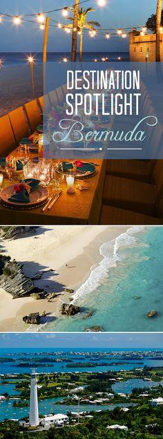 Our favorite spot for a destination wedding? BERMUDA! Click for photos, info & more.