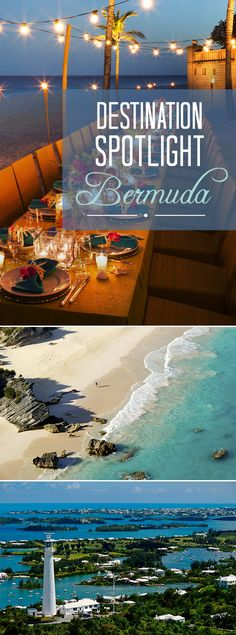 Our favorite spot for a destination wedding? BERMUDA! Click for photos, info & more.