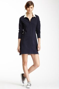 Striped polo shirt dress | Banana Republic | Fashion ideas ...