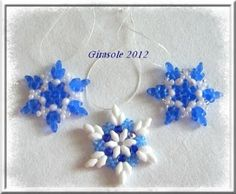 Beaded Snowflake PATTERN download http://www.ecrafty.com/casearch.aspx?SearchTerm=snowflake