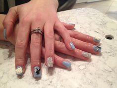 Blue gel Blue Gel, Nails, Beauty, Finger Nails, Ongles, Beauty Illustration, Nail, Nail Manicure
