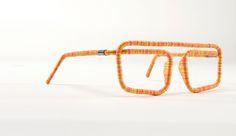 Greattttttt threaded glasses  By  Studio Erik Stehmann