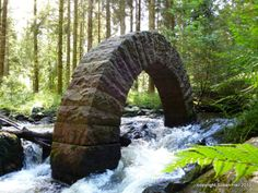 The arch at Drumlanrig Castle, Dumfries andGalloway. Scotland. Andy Goldsworthy's, of course...