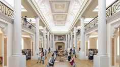 Designed by Schmidt Hammer Lassen Architects, Architectus, Andronas Conservation Architecture. The State Library of Victoria in Melbourne has tapped Schmidt Hammer Lassen Architects with local partners Architectus and Andronas Conservation...