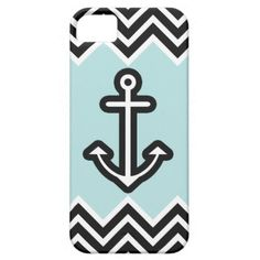 Mint Chevron Nautical iPhone 5 Cover by OrganicSaturation #iphone #iphonecase #iphonecover #iphone4 #anchor #nautical #chevron #mint #sea #sailor #pastel