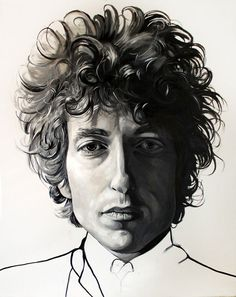 My work of Bob Dylan on Behance