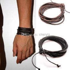 Many kinds of cheap silver bracelets, gold bracelets and silver chain can be bought here for a good price. cherylz provides amazing mens bracelets wrap multilayer genuine leather bracelet with braided rope fashion jewelry christmas charm bracelets 1300.