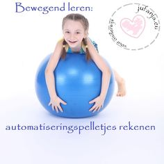 bewegend leren rekenen Math For Kids, Yoga For Kids, Numbers For Kids, Learning Numbers, Skills To Learn, School Hacks, School Ideas, Educational Games, Math Classroom