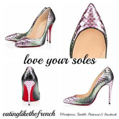 Christian Louboutin Summer 2015 - love you soles - eatinglikethefrench