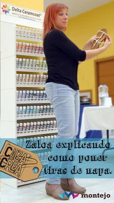 Zaloa durante el curso, Pinturas DELTA al fondo