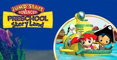 In JumpStart Advanced Preschool StoryLand, your child will complete games and missions that will teach him or her important #preschool skills! #Games #WildTangent #Fun #Kids #Educational