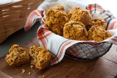Start your morning with one of these savory gluten-free muffins filled with oats, sweet potato purée and tiny bites of smoky bacon. Make sure to warm up muffins slightly before eating for the best flavor.