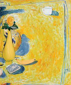 30. BRETT WHITELEY Still Life with Banana Be Still, Still Life, Simple Subject, Image Painting, Art For Art Sake, Australian Artists, Henri Matisse, Goods And Services, Art Auction