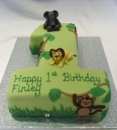 Jungle Birthday Cakes | Recent Photos The Commons Getty Collection Galleries World Map App …