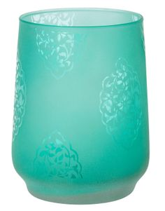 SONA tealight holder turquoise | T-light standing | Candles and Lanterns | Interior | INDISKA Shop Online