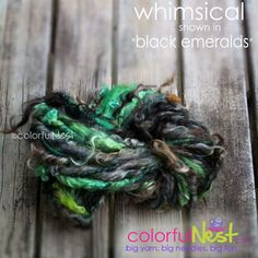 Handspun Yarn by Colorful Nest NEW COLORWAY SALE by TrickyKnits, $32.50