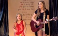 These Two Sisters Just CRUSHED It. Wait For The 2:40 Mark... The Little One Is Unbelievable.