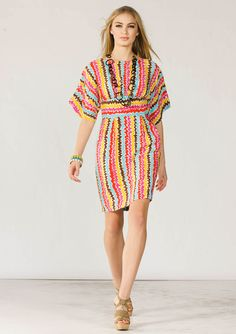 #trinaturk Fiesta Stripe Brisa Dress