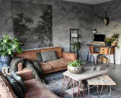 Een stoere binnenkijker met een industrieel interieur - Makeover.nl