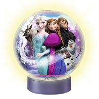 Ravensburger Disney Frozen 72 Piece 3D Puzzleball with Light: Put together your very own Disney Frozen 3D Puzzleball featuring your…