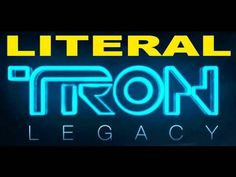 "Guy sings everything that literally happens in ""Tron Legacy"" movie trailer-hilarious!"