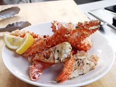 Grilled Crab Legs With Garlic Butter Recipe | Foodland - Great Deals at www.AlaskaKingCrabs.com