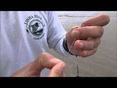 Chicote de pesca de praia - YouTube