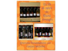 coffret# 6 mignonnettes# de Rhums arrangés# de chez Ruhm Kodiak#personnalisées# pour un mariage# Wine Rack, Storage, Home Decor, Rum Bottle, Custom Glass, Glass Etching, Box Sets, Objects, Weddings