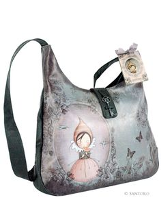 Santoro Eclectic - Pursuit Of Happiness - handbag I'd wish pretty much ;)