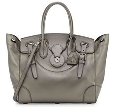 Ralph Lauren Soft Ricky 33 Calfskin Satchel Bag  fashion  accessories  purse   bag 901dd88882d32