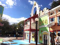 Qual a altura mínima?  Universal Studios com crianças pequenas