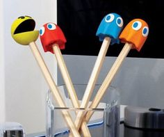 Pac-Man Pencil Top Erasers  Give your school supplies a nostalgic touch with the Pac-Man pencil top erasers. The pencil tops make awesome props for entertaining yourself during class and even better erasers to correct the mistakes you made while playing with these erasers at your desk.  $9.78  Check It Out  Awesome Sht You Can Buy